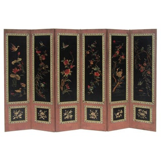 Chinese Antique Four Seasons Embroidery Display