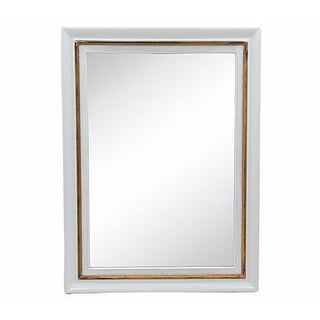 Rectangular Gray Framed Wall Mirror