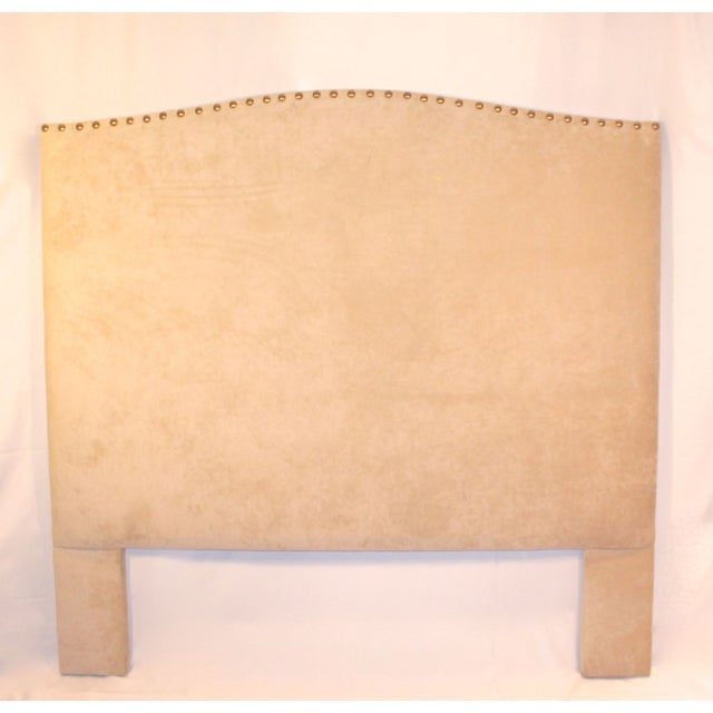Image of Custom Queen Neutral Tufted Headboard