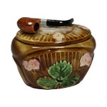 Image of French Tobacco Ceramic Box