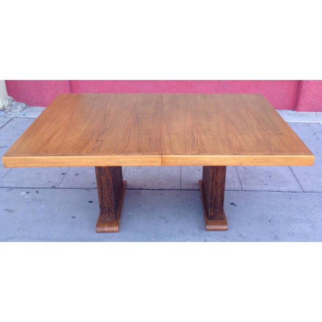Paul Frankl Dining Table with Original Finish - Image 2 of 7
