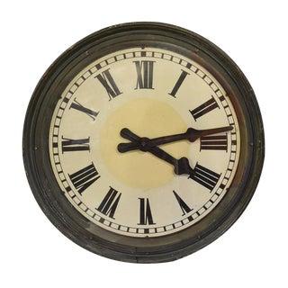 German Railroad Clock Face