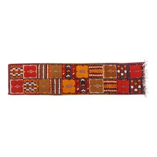Moroccan Berber Handwoven Rug - 2′ × 8′6″