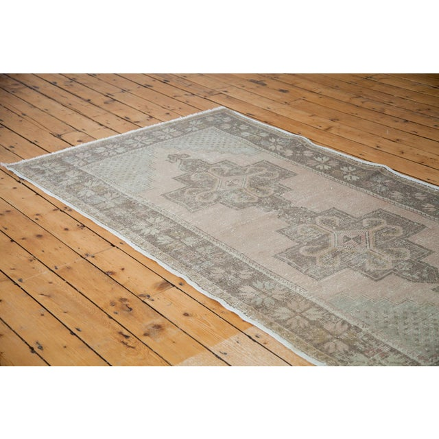 "Distressed Oushak Rug - 4'4"" x 8'2"" - Image 5 of 6"