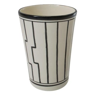 Earthenware Tapis Design Vase