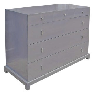 Distinctive Gentlemen's Grey Dresser or Cabinet