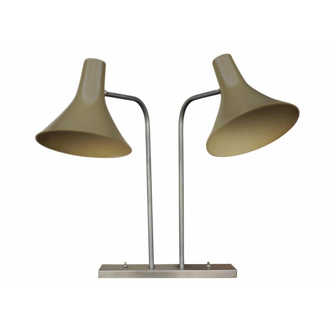 Walter Von Nessen Dual Desk Lamp - Image 1 of 6