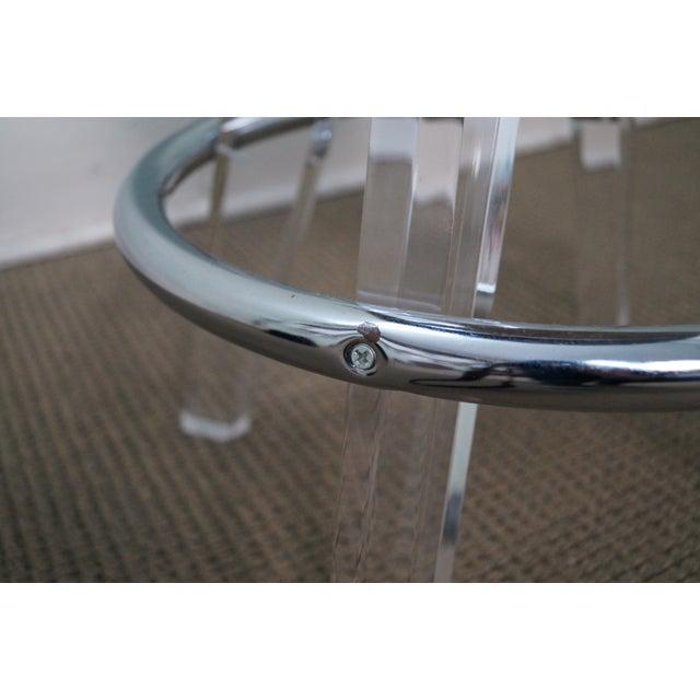 H. Studio Lucite Gumdrop Bar Stools by Haziza -- Set of 4 - Image 10 of 10