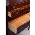 Image of Danish Highboy Dresser Chest of Drawers