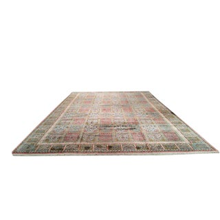 Traditional Kashmir Handmade Knotted Rug - 11′6″ × 18′3″