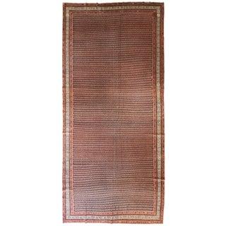 Antique Persian Seraband Gallery Carpet