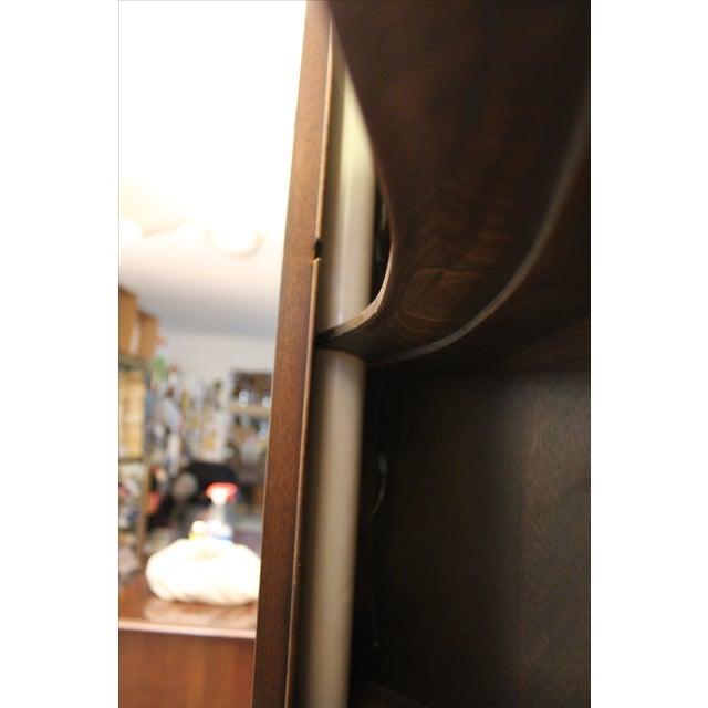 Henkel Harris Genuine Lighted Corner Cabinet - Image 8 of 11