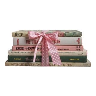 Vintage Book Gift Set: Spring Bouquet - Set of 6