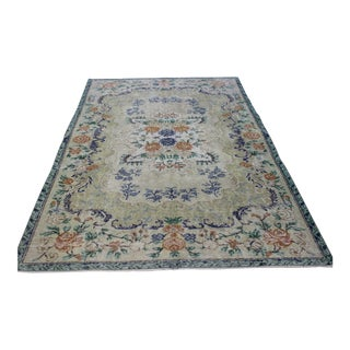 Oriental Overdyed Turkish Rug - 5' X 7'11""
