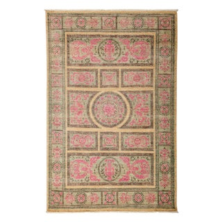 """New Traditional Hand-Knotted Rug - 5'2"""" x 7'7"""""""