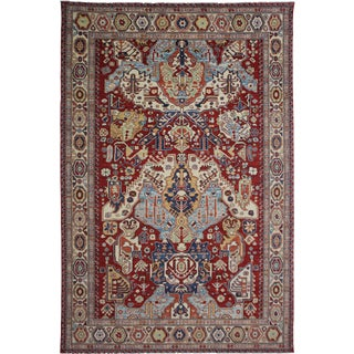 "Hand Knotted Fine Dragon Kazak Rug by Aara Rugs Inc. - 12'9"" X 8'10"""