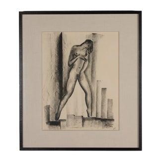 Charcoal on Paper by Boris Lovet-Lorski, 1925