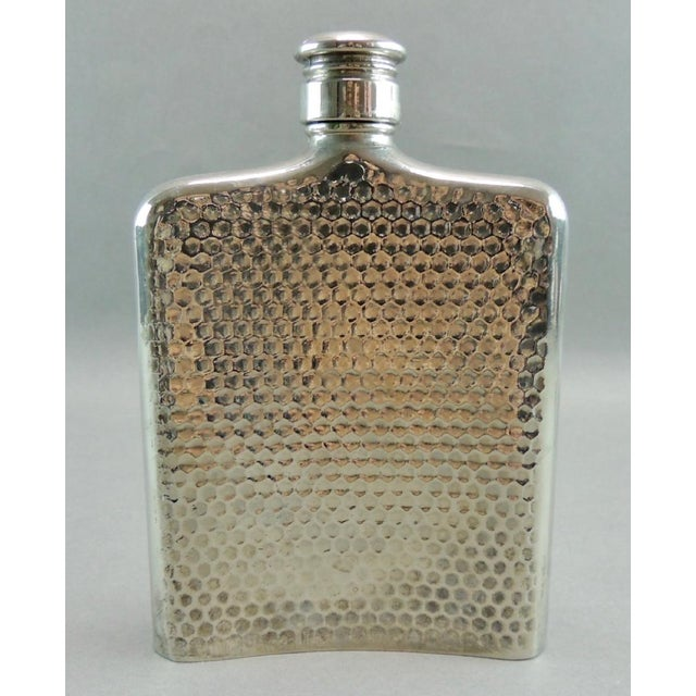 Silver Plated Satyr Art Flask - Image 3 of 5