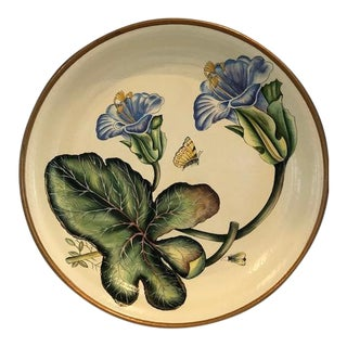 Vintage Decorative Hand Painted Platter