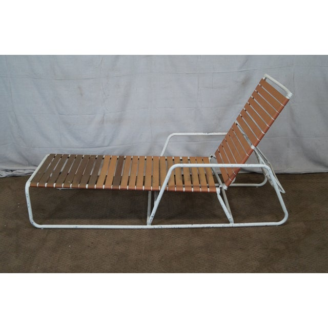 Brown Jordan Mid Century Patio Chaise Lounges - Image 3 of 10