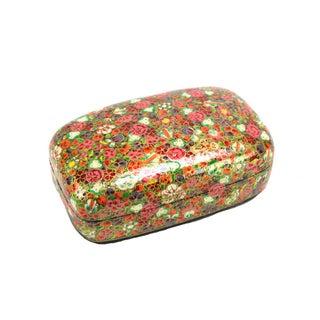 Floral Kashmiri Accent Box