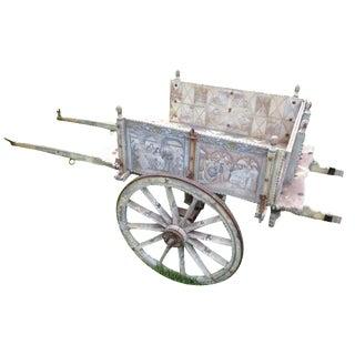 19th-Century Sicilian Goat Cart