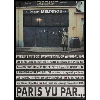 Japanese 1993 Paris Vu Par Film Poster