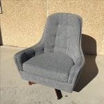 Image of Mid-Century Swivel Lounge Chair