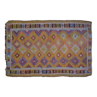 Vintage Turkish Kilim Rug - 5' x 7'8″