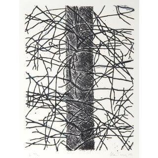 Pine Cut Down Lithograph by Alan Turner