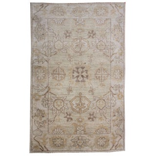"Hand Knotted Oushak Rug by Aara Rugs Inc. 6'4"" X 4'7"""