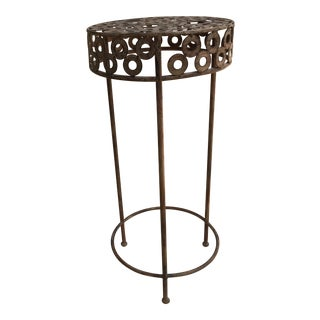 Modern Metal Patio Plant Stand