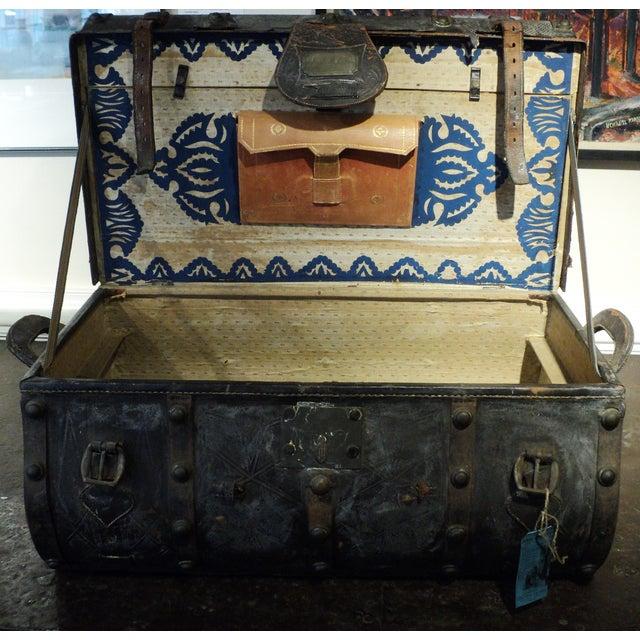 Antique Storage Trunk - Image 8 of 11