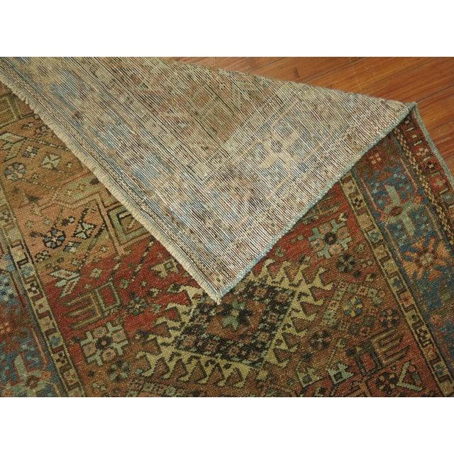Antique Persian Heriz Rug - 3 x 4'5'' - Image 6 of 6