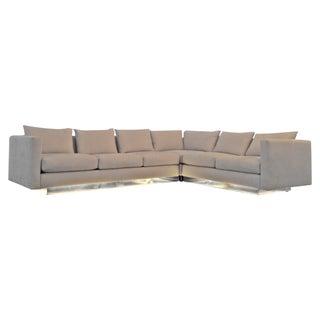 Milo Baughman Sectional Sofa - Illuminated Base