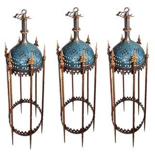 Rambusch Mediterranean-Style Lanterns - Set of 3