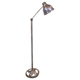 Industrial Metal Floor Lamp / Light