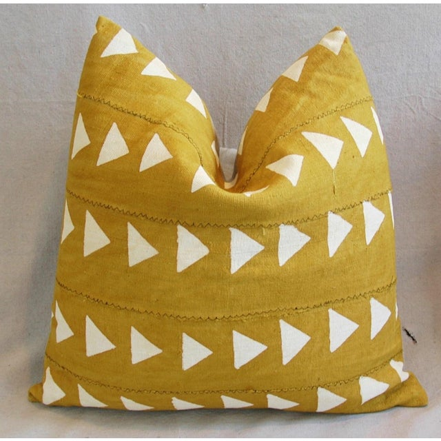 Boho Chic African Textile Pillows - A Pair - Image 4 of 10