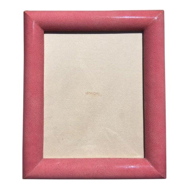 Rose Shagreen Frame - Image 1 of 7