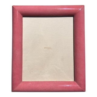 Rose Shagreen Frame