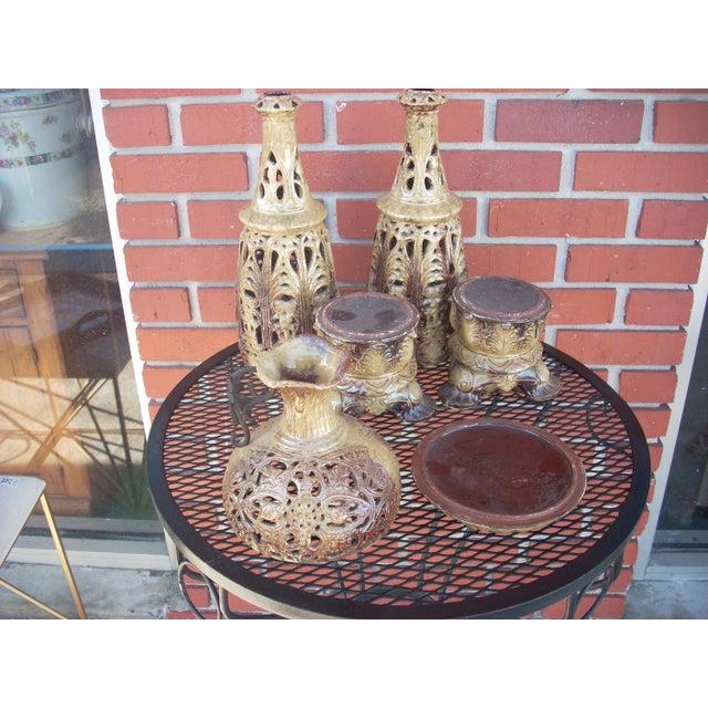 Boho Style Candle Lanterns - Set of 3 - Image 3 of 5