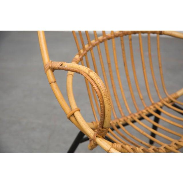 Rohe Noordwolde Bamboo Hoop Chairs - Pair - Image 7 of 8