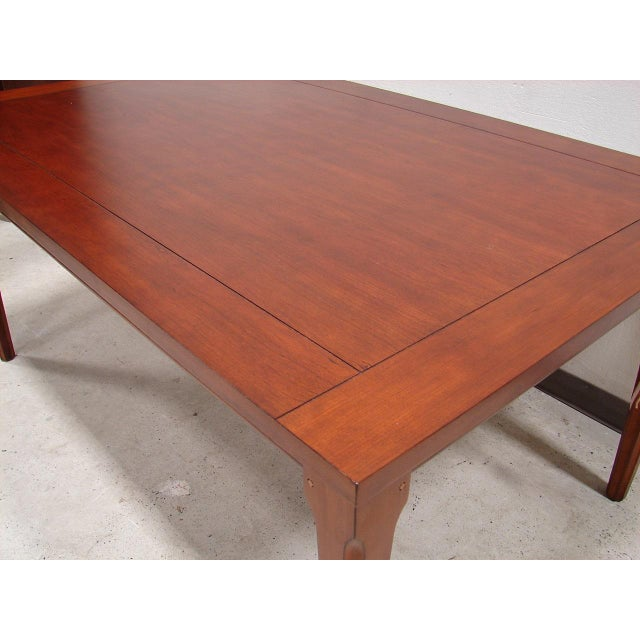 Broyhill Table with 2 Extension Leaves - Image 4 of 4