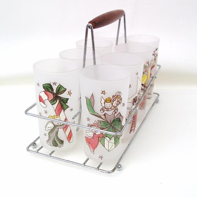 Rare Angel Barware Gay Fad Glasses Caddy - S/9 - Image 7 of 7