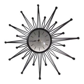 Mid-Century Atomic Retro Wall Clock