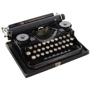 Underwood Antique Standard Portable Typewriter