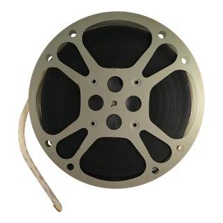 Vintage 16mm Silver Film Reel