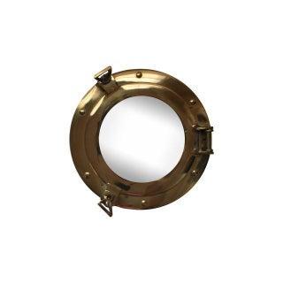Brass Porthole Mirror