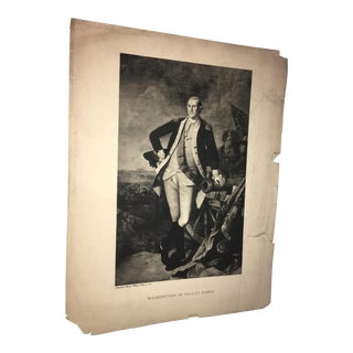 1930s Charles Wilson Peale George Washington Lithograph