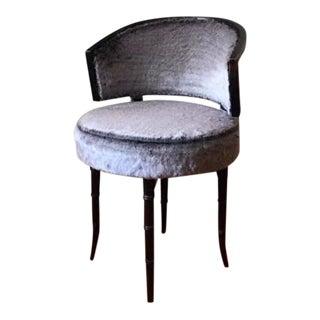 Bamboo Swivel Vanity Chair